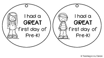 First Day of School Necklace