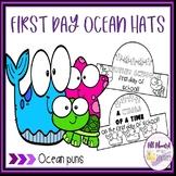 First Day of School Ocean Hats