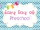First Day of School Photo Poster Printables
