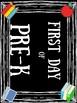 First Day of School Photo Prop FREEBIE (Headstart-5th Grade)