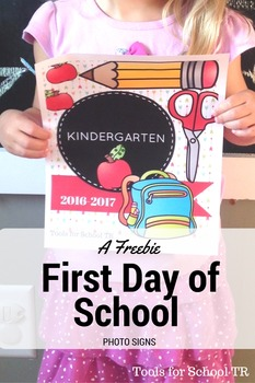 First Day of School Photo Signs