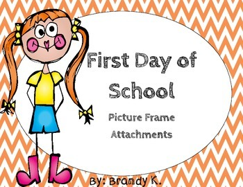 First Day of School Picture Frame FREEBIE
