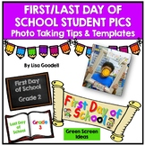 First Day and Last Day of School Picture Signs - Preschool