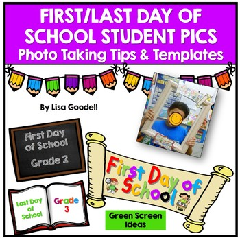 First Day of School Picture with Frame