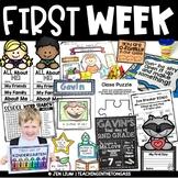 First Day of School Activities (Back to School Activities)