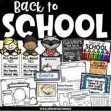 Back to School Activities, First Day of School Activities