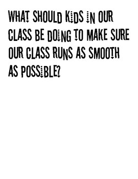 First Day of School Poster/Activity