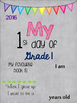 First Day of School Posters FREEBIE