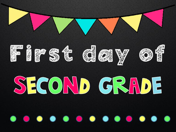 First Day of School Posters/Signs  { Kg-College! }