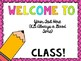 First Day of School Power Point - Editable Slides AND My Version