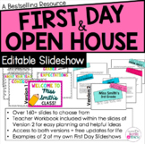 Editable First Day of School and Open House Slideshow {2 Versions Included!}
