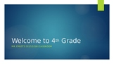First Day of School PowerPoint and First Week Lesson Plans
