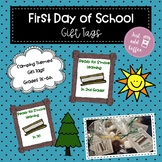 First Day of School S'more Gift Tags