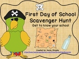 First Day of School Scavenger Hunt
