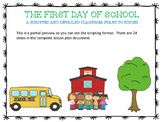 First Day of School Scripted and Detailed Plan