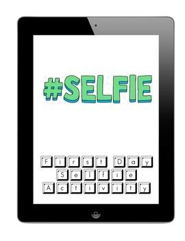 First Day of School Selfie Activity