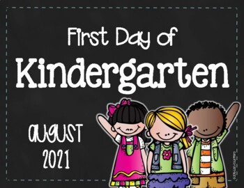 First Day of School Sign (K-2) {FREE}