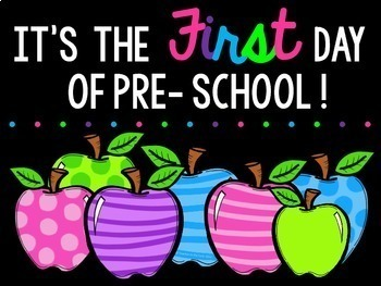 {Freebie} First Day of School Signs