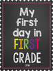 First Day of School Signs 2016
