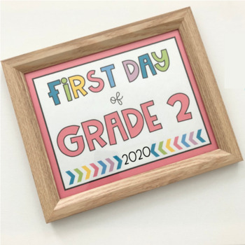 First Day of School Signs - 2019