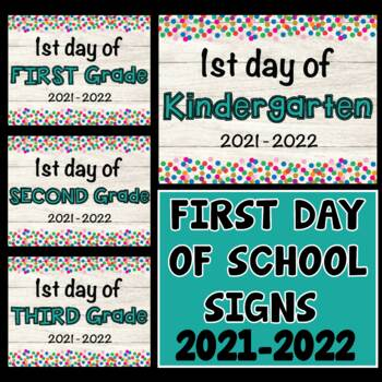 picture relating to Printable Back to School Signs named Initially Working day of Higher education Symptoms Again in direction of Higher education Symptoms 2019 - 2020 1st Working day Indicators