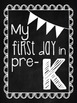 First Day of School Signs ~{Chalkboard}~