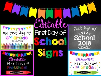 graphic relating to Last Day of Preschool Sign Printable identified as Remaining Working day Of Preschool Indicator Worksheets Education Supplies TpT