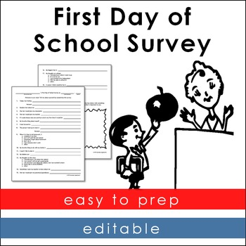 First Day of School Survey
