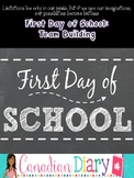 First Day of School Junior Activities