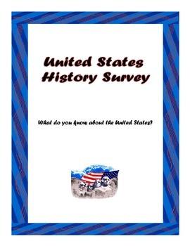 First Day of School U.S. History Survey
