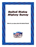 First Day of School U.S. History Survey