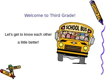 First Day of School - Welcome Back Students