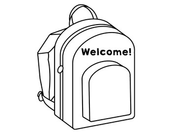 First Day of School Welcome Bags