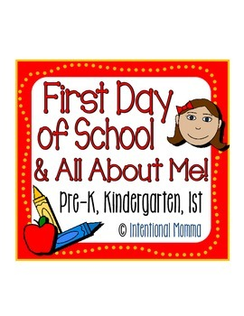 First Day of School and All About Me!