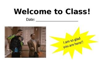 First Day of School and Classroom Procedures