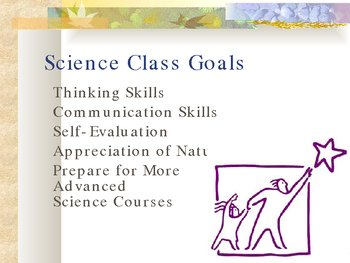 First Day of School and Science Open House PowerPoint Presentation