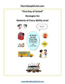 First Day of School for Students with Disabilities