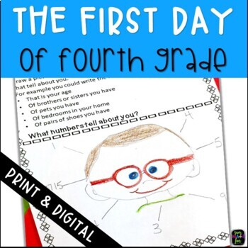 Back to School: First Week of School Fourth Grade Math Packet