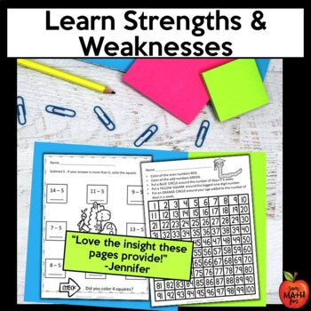 Back to School: First Week of School Second Grade Math Packet