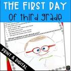 First Day of School Third Grade