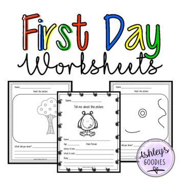 First Day of School (week) Worksheets