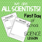 First Day of School Science Activity {Draw a Scientist!}