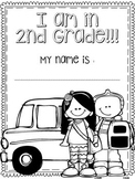 First Day of Second Grade Packet