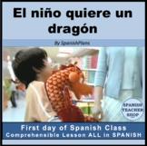 My First MovieTalk: El niño quiere un dragón