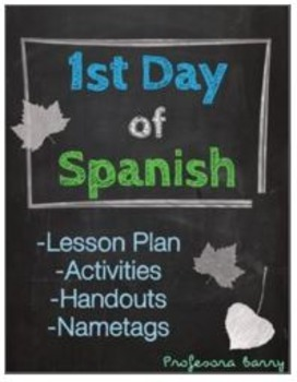 First Day of Spanish Pack