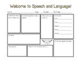 First Day of Speech