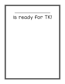 First Day of TK