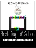 First Day of Year... Photo Frame Rainbow