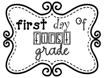 First Day of ____ Grade Sign