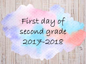 First Day sign